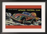 Space Patrol Car Prints