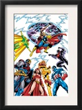 Avengers 17 Group: Captain America Posters by Jerry Ordway