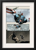 Captain America: The Chosen 5 Cover: Captain America Art by Mitchell Breitweiser