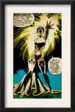 Marvel Comics Retro: X-Men Comic Panel, Storm (aged) Posters