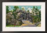 Black Hills, South Dakota - View of Iron Mountain Road Tunnel and Bridge, c.1937 Prints