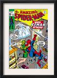 Amazing Spider-Man 92 Cover: Spider-Man, Stacy, Gwen and Iceman Posters by Gil Kane
