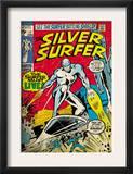 Marvel Comics Retro: Silver Surfer Comic Book Cover 17 (aged) Art