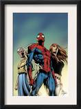 Amazing Spider-Man 519 Cover: Spider-Man, May Parker, and Mary Jane Watson Posters by Mike Deodato Jr.