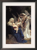 Song of The Angels Art by William Adolphe Bouguereau