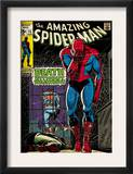 Marvel Comics Retro: The Amazing Spider-Man Comic Book Cover 75, Death Without Warning! (aged) Art