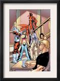 Alpha Flight 2 Group: Major Mapleleaf, Nemesis and Alpha Flight Poster by Clayton Henry