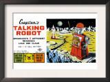 Cragstan Talking Robot Posters