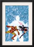 Contest Of Champions II 1 Cover: Iron Man and Psylocke Posters by Michael Ryan