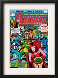 Avengers 147 Cover: Scarlet Witch Prints by George Perez