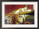 A Craving For Cherries Print by Sir Lawrence Alma-Tadema