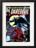 Daredevil 158 Cover: Daredevil and Death-Stalker Prints by Frank Miller