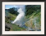 Maly / Lesser Geyser Blows Reguarly, Geyser Valley, Kronotsky Zapovednik Russia Prints by Igor Shpilenok