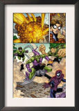 Marvel Adventures Spider-Man 12 Group: Spider-Man, Green Goblin, Sandman and Doctor Octopus Prints by Mike Norton