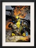 X-Men Deadly Genesis 3 Cover: Wolverine Fighting Prints by Trevor Hairsine