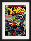 Marvel Comics Retro: The X-Men Comic Book Cover 133, Wolverine Lashes Out (aged) Prints