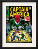 Marvel Comics Retro: Captain America Comic Book Cover 103, Red Skull, the Weakest Link (aged) Poster