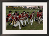 British Sortie Reenactment at Yorktown Battlefield, Virginia Prints