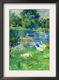View In Bologne Prints by Berthe Morisot