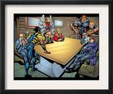 Weapon X 18 Group: Wolverine, Angel, Juggernaut, Professor X, Cyclops and X-Men Prints by jeff Johnson