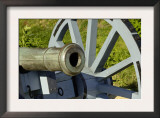 Close-Up of a Revolutionary War Cannon at Yorktown Battlefield, Virginia Posters