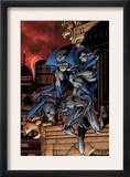 Marvel Adventures Spider-Man 29 Cover: Spider-Man and Grey Gargoyle Prints by Pop Mhan