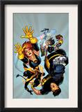 Ultimate X-Men 54 Cover: Grey, Jean, Cyclops, Nightcrawler and Colossus Print