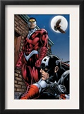 Captain America And The Falcon 13 Cover: Captain America and Falcon Prints by Dan Jurgens