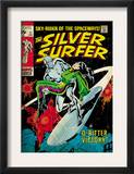 Marvel Comics Retro: Silver Surfer Comic Book Cover 11, Bitter Victory (aged) Posters