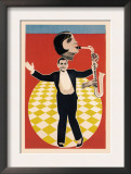 The Sax Jazz Dance Poster