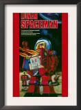 Lunar Spaceman Art
