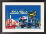 Mobile Satellite Tracking Station Poster