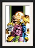 Exiles 62 Group: Holocaust, Blink, Sabretooth, Namora, Morph and Mimic Prints by Mizuki Sakakibara
