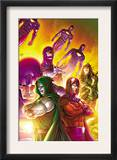 Doctor Doom and The Masters of Evil 4 Cover: Dr. Doom, Magneto and Sentinel Posters by Roger Cruz
