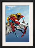 Spider-Girl 95 Cover: Spider-Girl and War Machine Posters by Ron Frenz