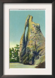 Custer State Park, South Dakota - View of the Needle's Eye in the Black Hills, c.1935 Prints