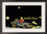 Space Patrol Super Cycle Art