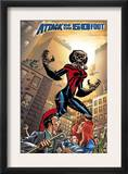 Spider-Girl 90 Cover: Spider-Girl Prints by Ron Frenz