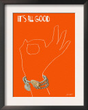 It's All Good - A Pretty A-Ok Prints by Lisa Weedn