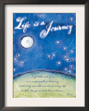Life is a Journey Prints by Flavia Weedn