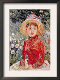 Young Girl Prints by Berthe Morisot