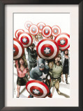 Captain America: The Chosen 6 Cover: Captain America Print by Mitchell Breitweiser