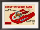 Cragstan Space Tank Prints