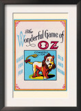 Thewonderful Game of Oz - Cowardly Lion Prints by John R. Neill