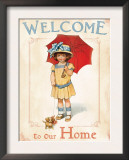 Welcome to our Home Prints by Bessie Pease Gutmann