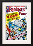 The Fantastic Four 28 Cover: Mr. Fantastic Prints by Jack Kirby