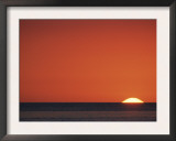 Sun Setting Over Gulf of Mexico, Florida, USA Prints by Rolf Nussbaumer