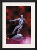 Silver Surfer 7 Cover: Silver Surfer Prints by Gary Frank