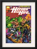Heroes For Hire 1 Cover: Cage, Luke, Iron Fist, Hulk and Black Knight Posters by Pascual Ferry