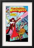 Avengers West Coast 43 Cover: Scarlet Witch Print by John Byrne